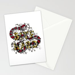 Bite Hard Stationery Cards