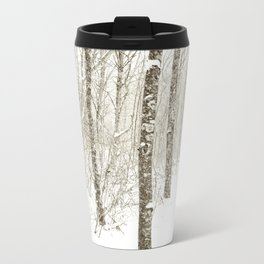 Wintry Mix Metal Travel Mug