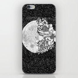 Moon Abloom iPhone Skin