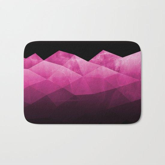 Fifty Shadows of Purple Bath Mat