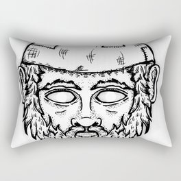 Gnome Dome Rectangular Pillow