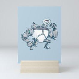 Uber UnderwearBot Mini Art Print