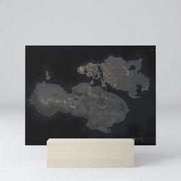 Wattopia Map 2020 Mini Art Print