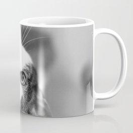 Upside down cat Coffee Mug