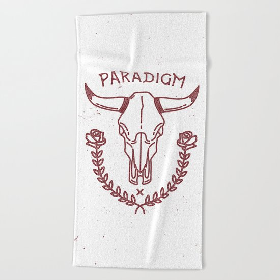 Paradigm Beach Towel