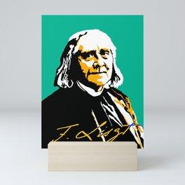 Franz Liszt (1811-1886) in 1886 (digital 2) Mini Art Print