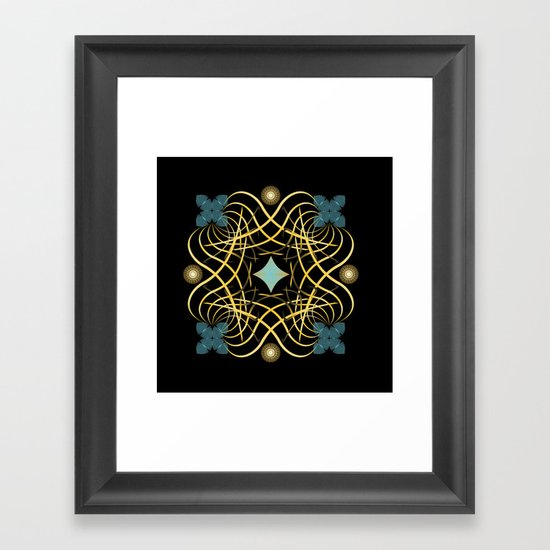 Circle Study No. 450 Framed Art Print