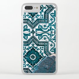 some Portuguese tiles Clear iPhone Case