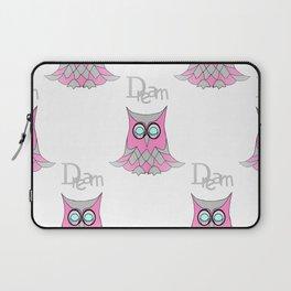 Dream Owl Pattern Laptop Sleeve