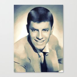 Jerry Lewis, Hollywood Legend Canvas Print