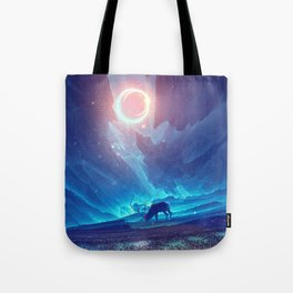 Stellar collision Tote Bag