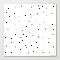 Polka Dotty Canvas Print