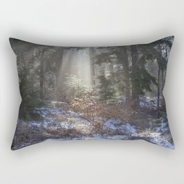 Winter Sunrise Rectangular Pillow
