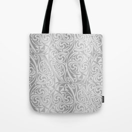 Celtic Warlord silver Tote Bag