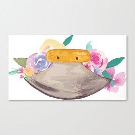 Ulu Floral Canvas Print