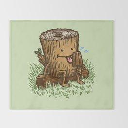 The Popsicle Log Throw Blanket