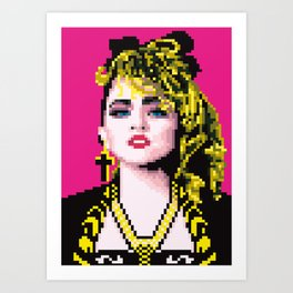 Virgin-like girl Art Print