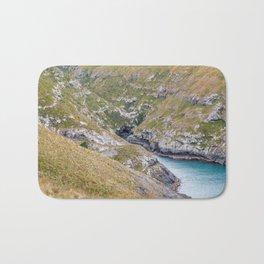 Haylocks Bay, Akaroa, New Zealand Bath Mat