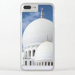 Moschea Sheikh Zayed Clear iPhone Case