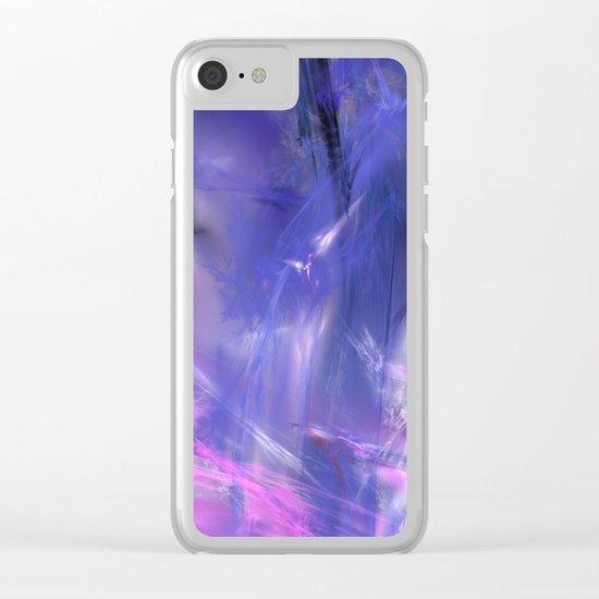 magic ice Clear iPhone Case