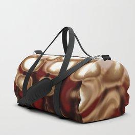 Christmas Cookie Dough Liquid Art Duffle Bag