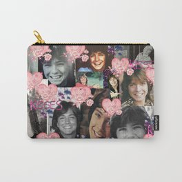 David Cassidy - Butterfly Kisses N Hearts Carry-All Pouch