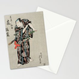 Arashi Rikan -  Vintage Japanese Art Print Stationery Cards