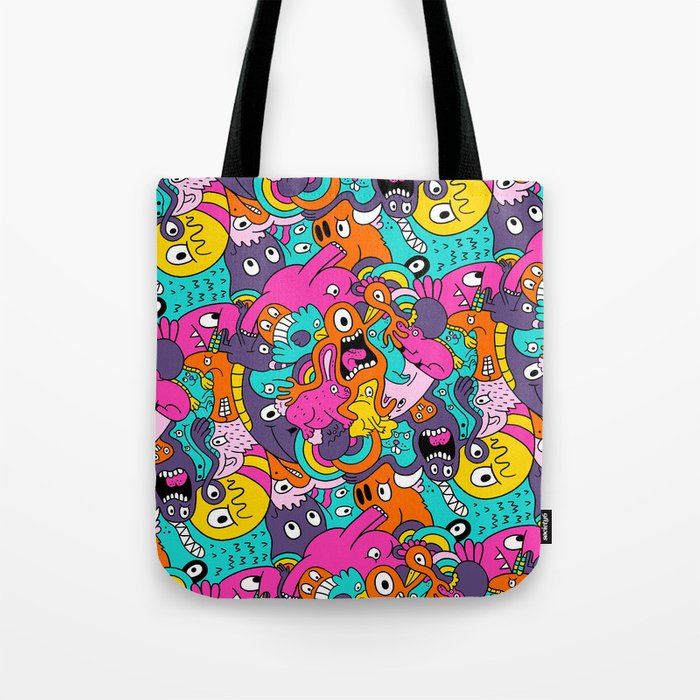 Jumble Bunny Tote Bag
