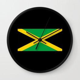 Jm Flag Wall Clock
