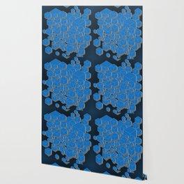 3D Futuristic Cubes IV Wallpaper