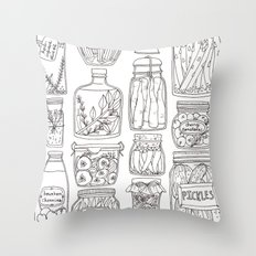 Pickles Print Throw Pillow