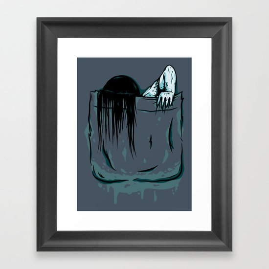 Pocket Samara Framed Art Print