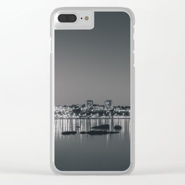 Porto in Black and White II Clear iPhone Case