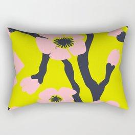 Pink Blooms Everywhere No 03 Rectangular Pillow