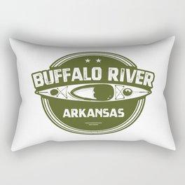 Buffalo River, Arkansas Rectangular Pillow