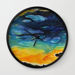 Diving Deep Wall Clock