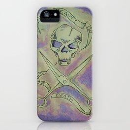 Beauty skull iPhone Case