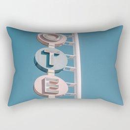 Motel signage Rectangular Pillow