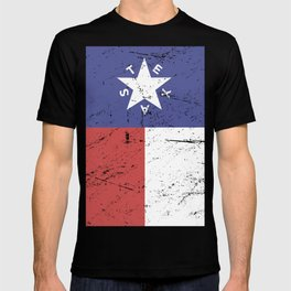 Retro Style Texas Flag T-shirt