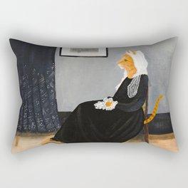 Whisker's Mother Rectangular Pillow
