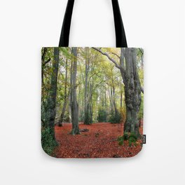 Walking Through Epping Forest Tote Bag