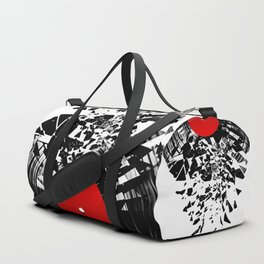 Vinyl shatter Duffle Bag
