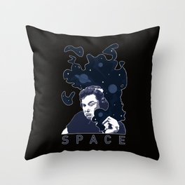 Smoke of Creation Throw Pillow