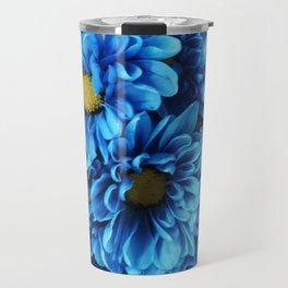 Blue mums Travel Mug
