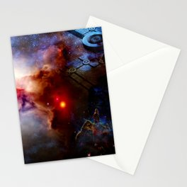Outer Terrestrial Stationery Cards