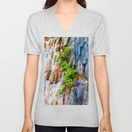 Cliff Hanger Unisex V-Neck