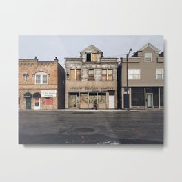 Lorain Fulton Bakery Metal Print