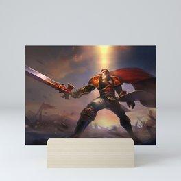Sanguine Garen League of Legends Mini Art Print