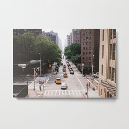 Chelsea in Summer, New York Metal Print