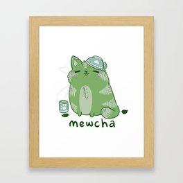 Mewcha Framed Art Print